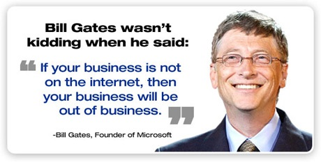 Bill Gates on online business